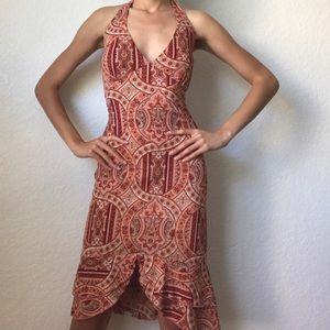 Tribal Summer Halter Dress